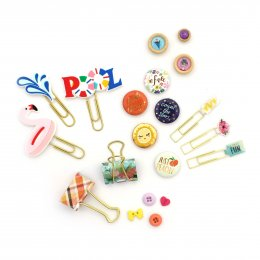 Eyelets, Brads, Badges, Buttons & Paper Clips