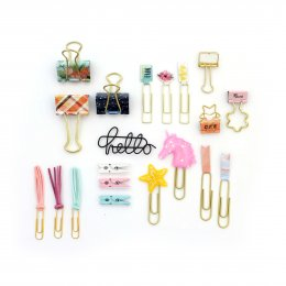 Paper Clips, Pins & Badges