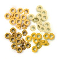 We R Memory Keepers - Standard Eyelets - Yellow