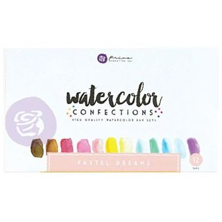 Prima Marketing - Watercolor Confections Watercolor Pans { Pastel Dreams }