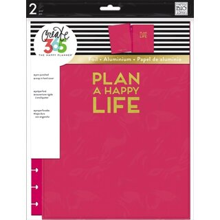 Me & My Big Ideas - Create 365 The Happy Planner - Snap In Hard Cover BIG { Pink }