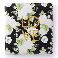 Webster´s Pages - SMALL Creative Photo Album {Black Floral}