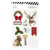 Heidi Swapp - Winter Wonderland - Layered Sticker {Gold...