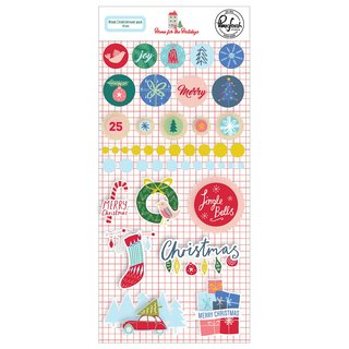 Pinkfresh Studio - Home for the Holidays - Mixed Embellishment Pack