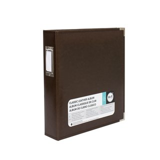 We R Memory Keepers - Classic Faux Leather Album - 8.5x11 Black