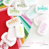 The Stamp Market - Color Crush - Cardstock 8.5x11 {Leafy}