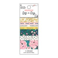 Crate Paper / Maggie Holmes - Day To Day - Washi Tape Set 1