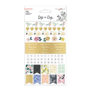 Crate Paper / Maggie Holmes - Day To Day - Sticker Book (Phrase)