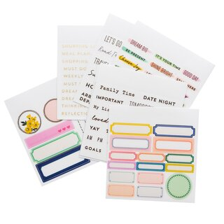 Crate Paper / Maggie Holmes - Day To Day - Sticker Book Mini (Phrase)
