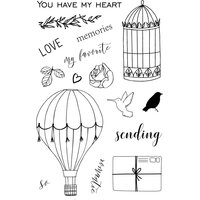 Studio Forty - Clear Stamps - Sending Love