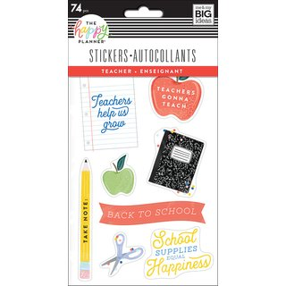 Me & My Big Ideas - Create 365 The Happy Planner - Sticker Pad (Teacher)