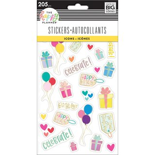 Me & My Big Ideas - Create 365 The Happy Planner - Sticker Pad (Mini Icons)