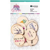 Rosie´s Studio - Splendid - Wooden Tags