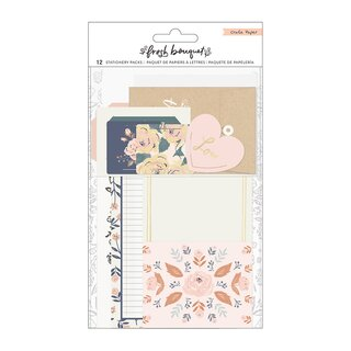 Crate Paper - Fresh Bouquet - Stationary Pack (Gold Foil)