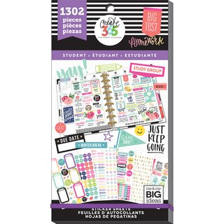 Me & My Big Ideas - Create 365 The Happy Planner - Value Pack Stickers (Fri YAY - Student)
