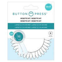 We R Memory Keepers - Button Press - Rosetten Kit