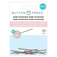We R Memory Keepers - Button Press - Bobby Pin Back