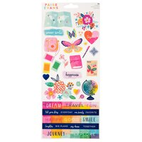 Paige Evans - Go The Scenic Route - 6x12 Cardstock Stickers