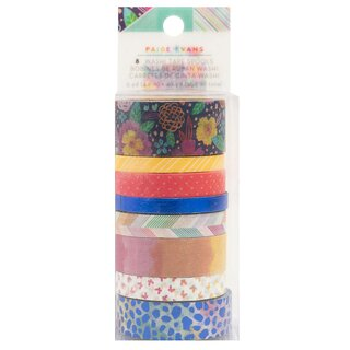 Paige Evans - Go The Scenic Route - Washi Tape Set (Navy Foil)