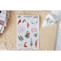 Studio Forty - Sticker Set - Holly Jolly