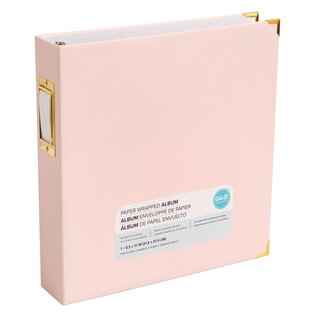 We R Memory Keepers - 8.5 x 11 Album - Soft Pink